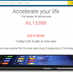 Angry with Xiaomi and Flipkart over the Mi 3 flash sale? What do you intend to do?