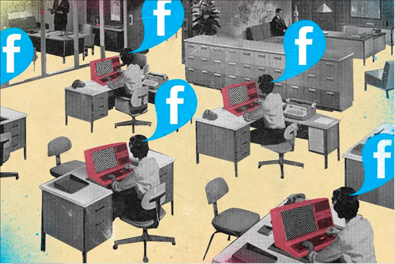 Welcome to the future of office, Facebook at Work