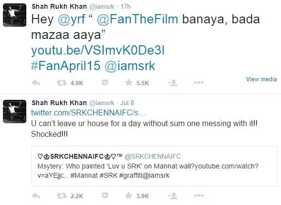Dummies guide to Shah Rukh Khan's tweets – real or acting?