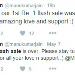 Xiaomi brand love, for just a Rupee!