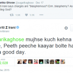 The (Twitter) world doesn't revolve around Smriti Irani's back