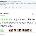 The (Twitter) world doesn't revolve around Smriti Irani's back