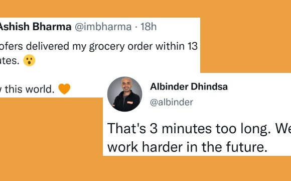 Grofers' response and reading the room
