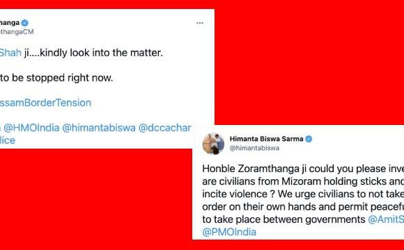 Two Indian chief ministers fight on social media