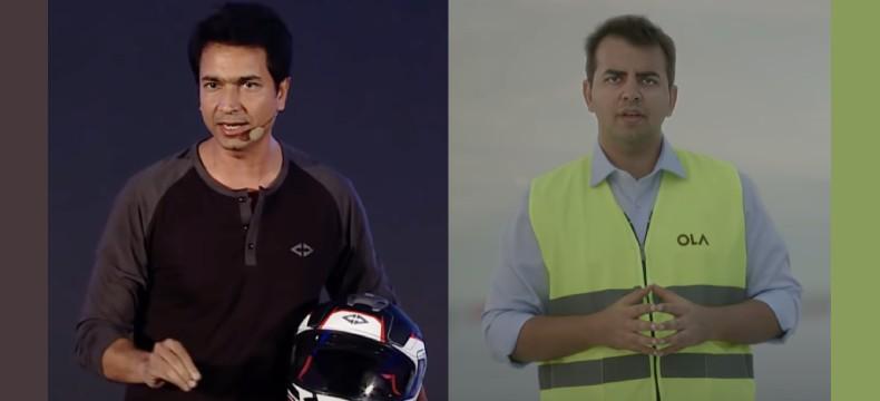 Framing EV launch communication – Rahul Sharma vs. Bhavish Aggarwal