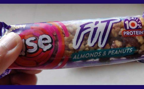 Cadbury Fuse Fit's pack design communicates USP